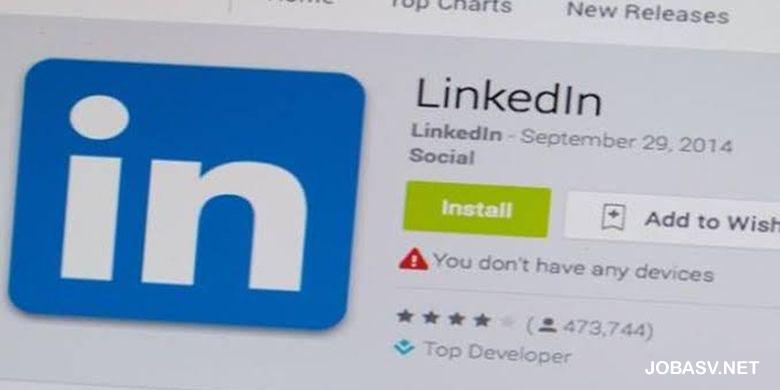 Rekomendasi 10 Situs Web Penyedia Lowongan Kerja LinkedIn